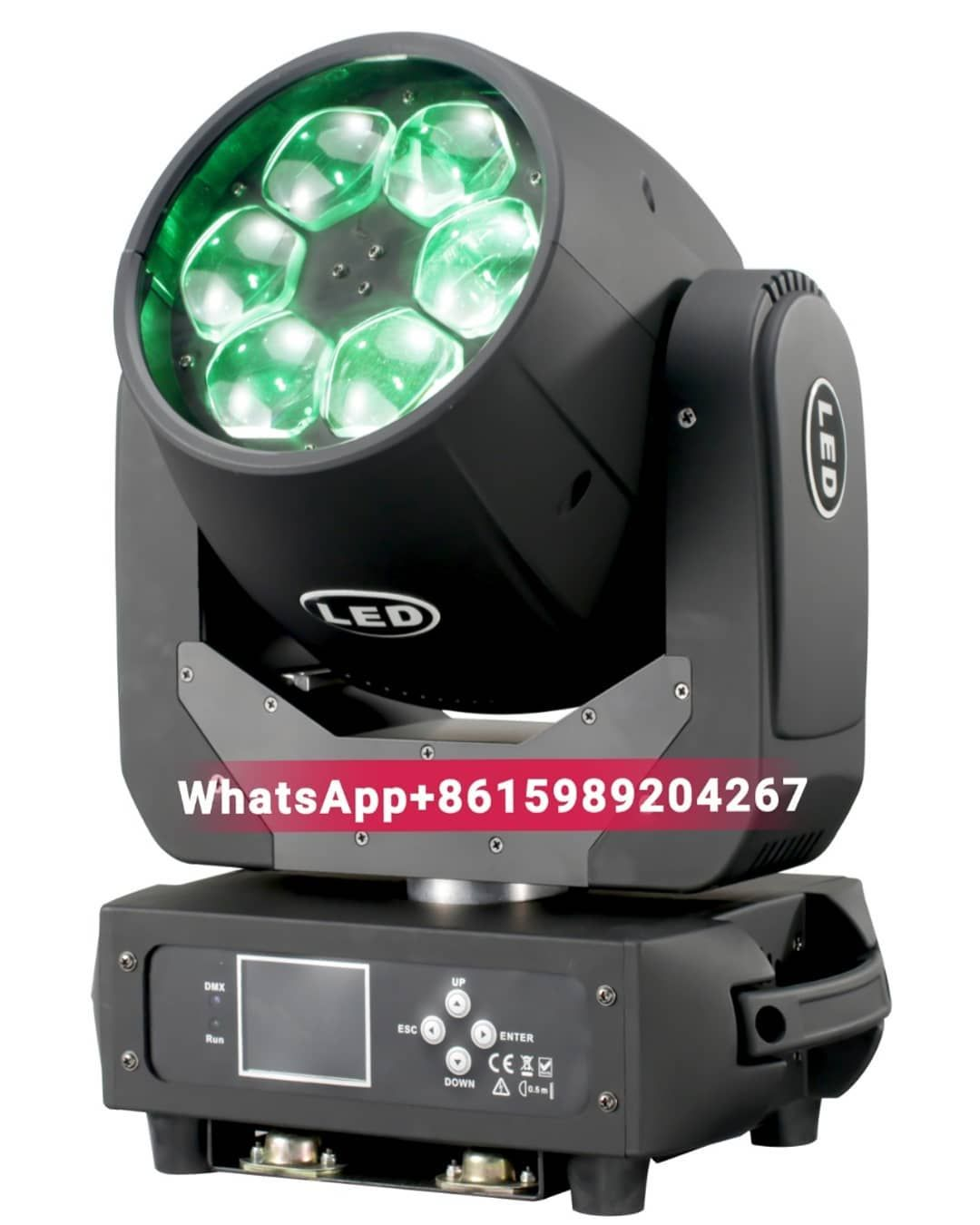 6 40w Rgbw Bee Eyes Zoom Wash Led Moving Head Light Whatsapp 8615989204267 Club Stagelife Weddings Ledlighting Parlight Led Headlights Light Beam