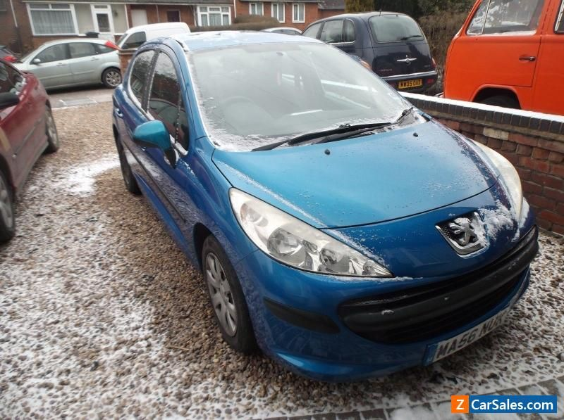 Peugeot 207 Blue 5-Door Hatchback Car 2006 Model Good #peugeot #207s ...