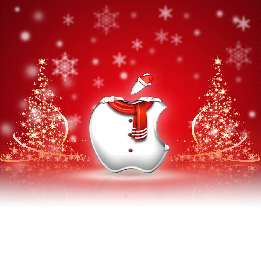 Ipad Wallpaper Christmas By Laggydogg Christmas Wallpaper Ipad Wallpaper Iphone Christmas Apple Logo Wallpaper