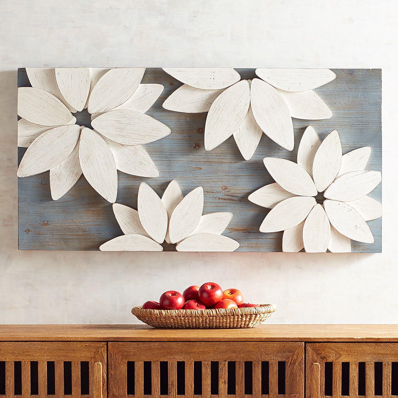 Mod flowers wall decor amazing artwork pinterest flower wall