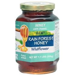 The Brazilian rainforest is known for its variety of flowers.  This particular product is the raw honey. Novo Mel honey contains no trace of pesticides, herbicides, heavy metals, radioactivity and other chemicals, because the beehives are placed on remote regions that haven contact with the industries or intense agriculture. Because the Brazilian bees have a high immunity against several illnesses, they do not require drugs or special treatment, leaving the Brazilian bee products residue…