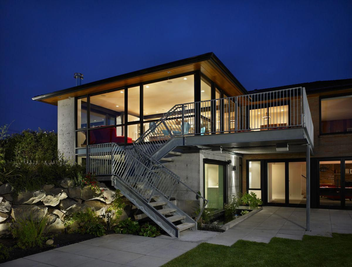 Rauch residence by baan design addition and remodel of roman brick rambler located in the city seattle washington also best architecture images on pinterest modern homes rh