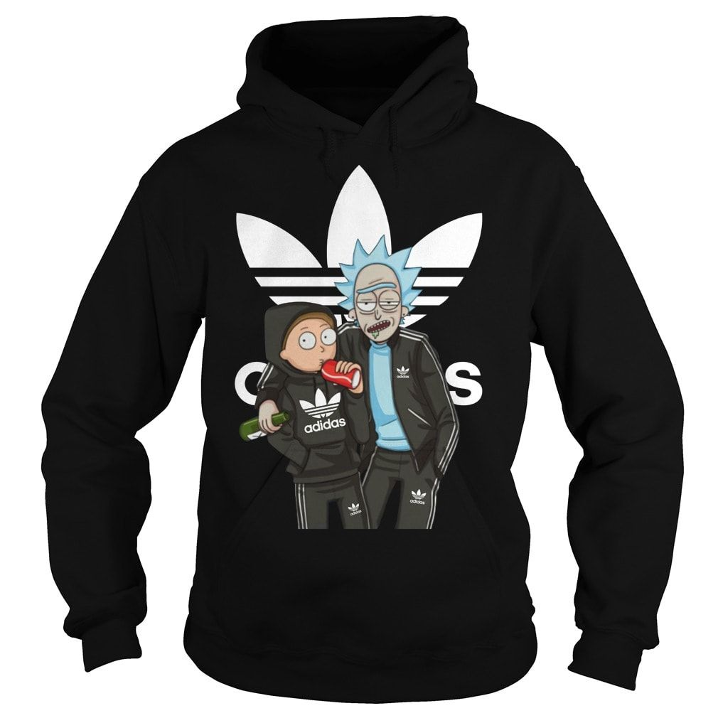 1c21340f Rick And Morty Adidas Shirt, Hoodie, Sweater in 2019 | Rick and ...