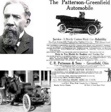 Charles rich patterson and his son frederick patterson for The frederick motor company