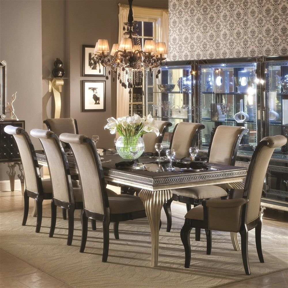 An Incredible Table With 10 Chairs From 2017 Collections A Interesting Dining Room Set For 10 Decorating Inspiration