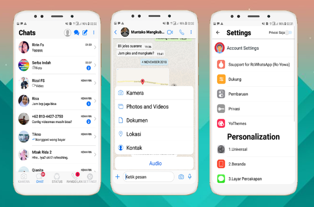 Download Whatsapp Mod Ios Versi Terbaru 2019 Fitur Canggih Jamal In 2020 Instagram Ios Themes App Iphone Style