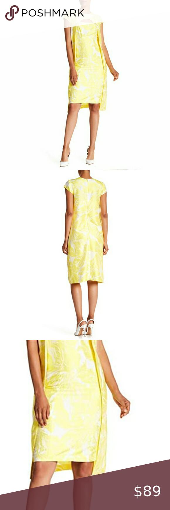 Kay Unger Sunshine Yellow Dress Dress Size Chart Women Navy Cocktail Dress Yellow Dress [ 1740 x 580 Pixel ]
