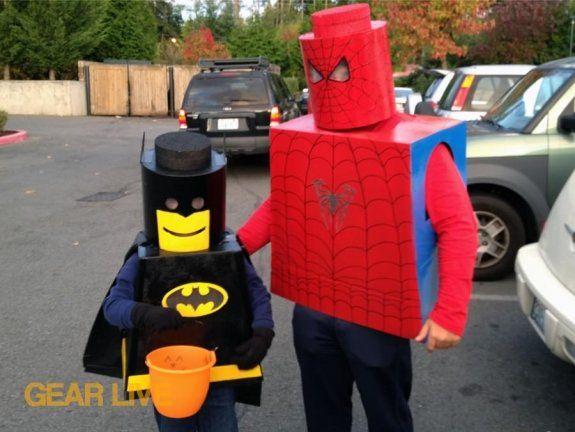 How to make your own LEGO Superhero Halloween costume | Gear Live & How to make your own LEGO Superhero Halloween costume | Gear Live ...