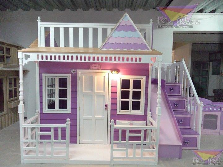Casitas de madera para habitaciones buscar con google - Habitaciones de ninas ...