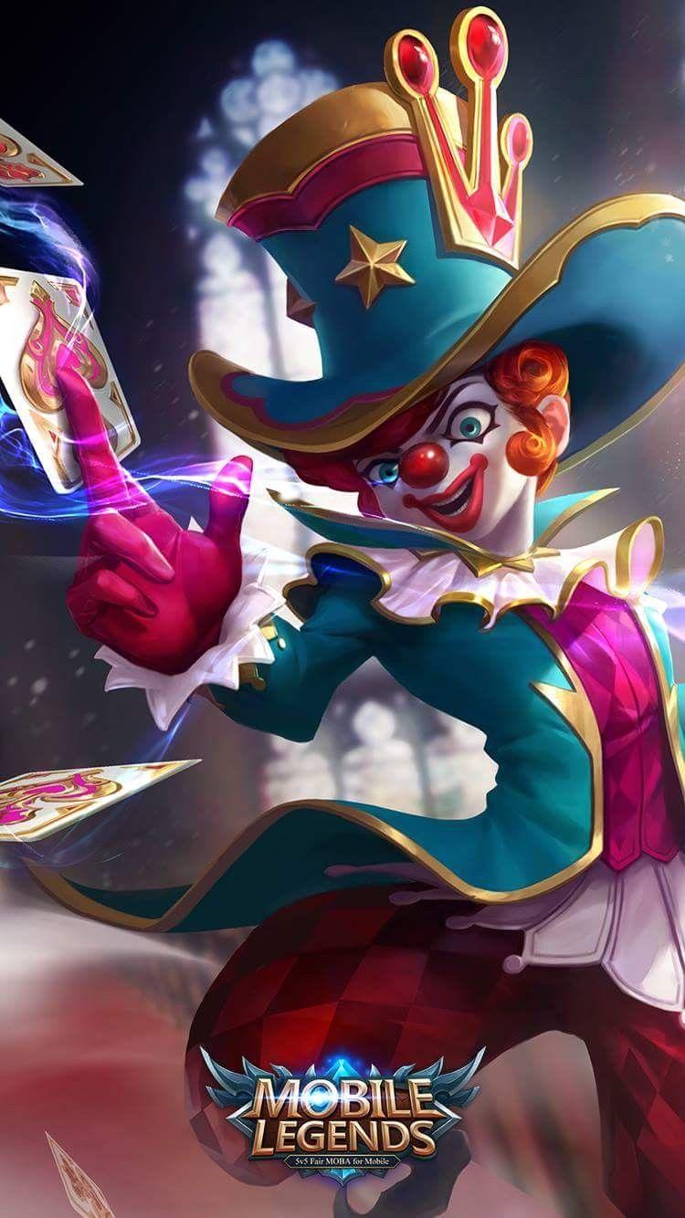 The Naughty Joker Harley Gambar Karakter Animasi Kartun