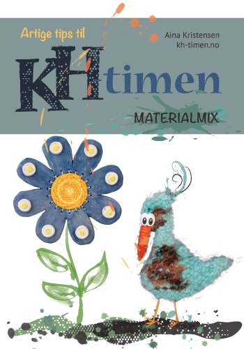 Det er gøy og lærerikt å kombinere ulike materialer og teknikker i en og samme oppgave. Det er med på å bidra til en variert, morsom og utfordrende undervisning i kunst og håndverk. Det bidrar også til å øke mulighetene og forutsetningene for kreativ utfoldelse – jo mer kunnskap jo større skapende frihet.  I dette heftet gir jeg deg tips og inspirasjon til å bruke tradisjonsrike materialer innen sløyd, tekstil og keramikk kombinert med hverandre.