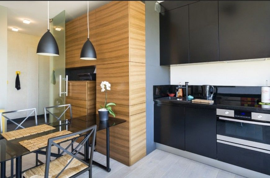 8 Chic And Modern Small Kitchen Designsmodify Your Space  The Pleasing One Wall Kitchen Designs Photos Decorating Inspiration