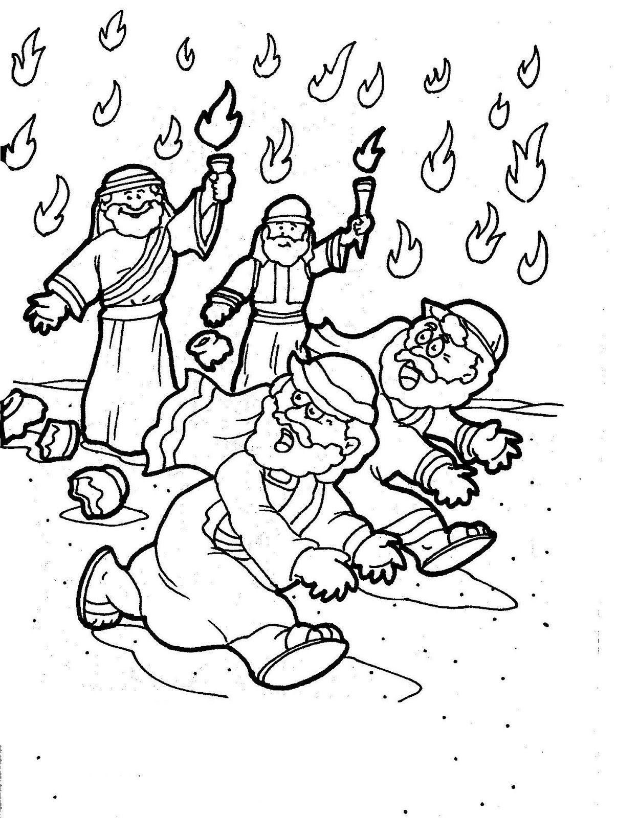 Printable Coloring Gideon Torch Coloring Page Coloring Page Gideon