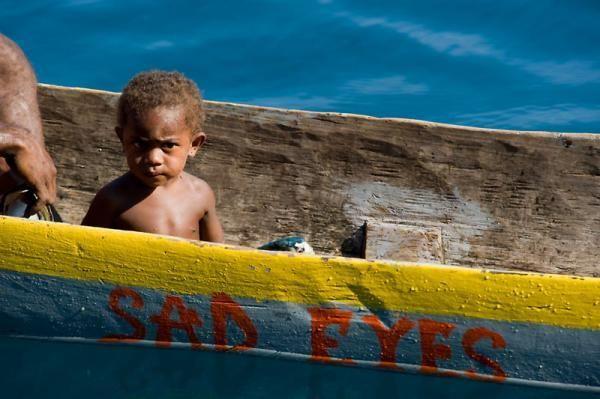 Papuan boy, New Guinea Coral Tri BoyCredit: © Jürgen Freund / WWF-Canon.
