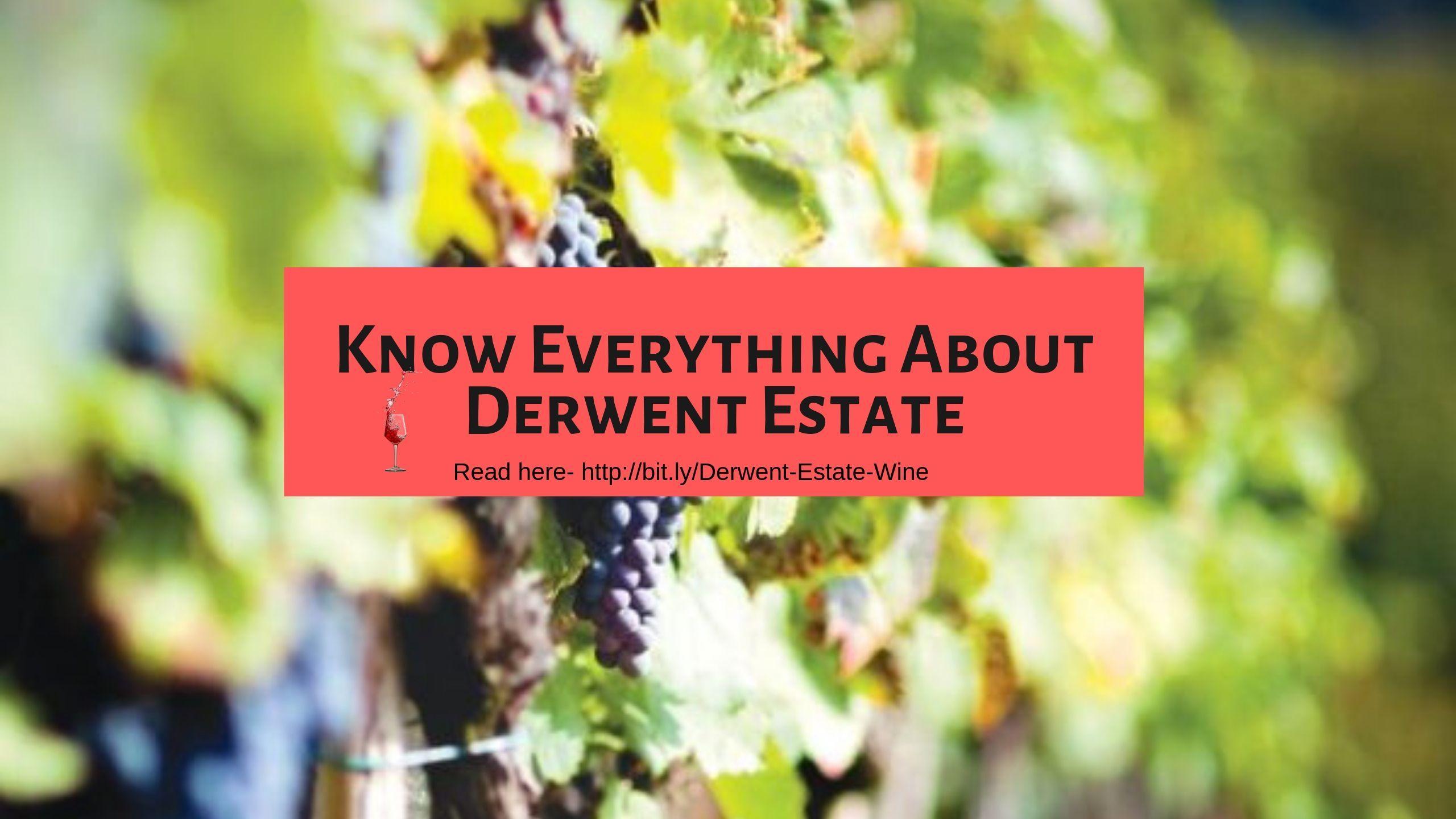 Derwent Estate Wines Lettering Wines Reading