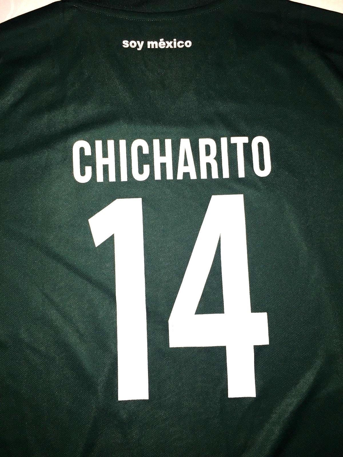 4b1f3ad8019 NEW 2018 ADIDAS MEXICO SOCCER FIFA WORLD CUP   14 CHICHARITO MEN S LARGE  JERSEY (eBay Link)