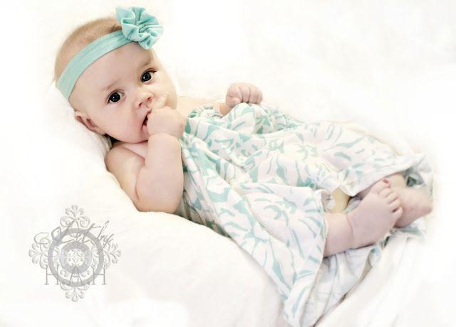 ♥ Baby Headband Tutorial #babyheadbandtutorial