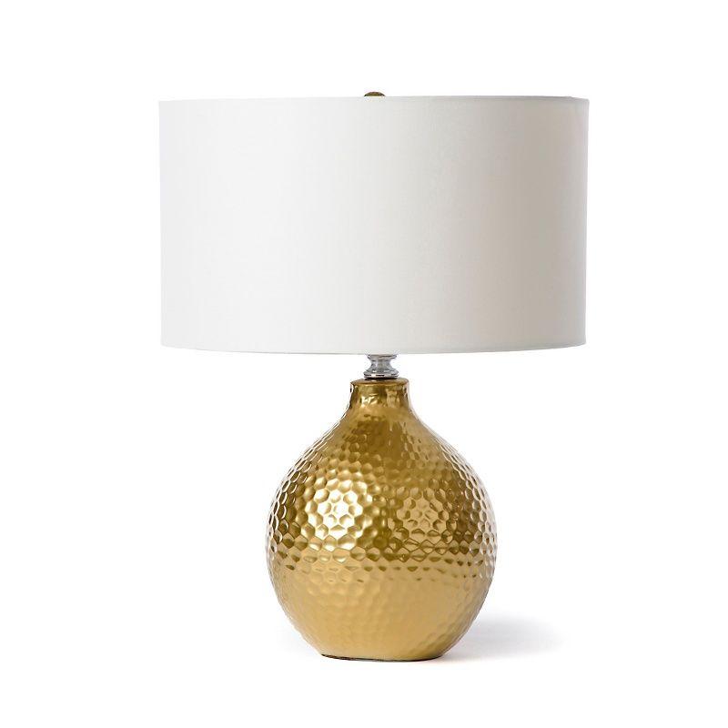 Calloway Gold Foil Lamp At Hsn Com Lamp Gold Lamp Table Lamp