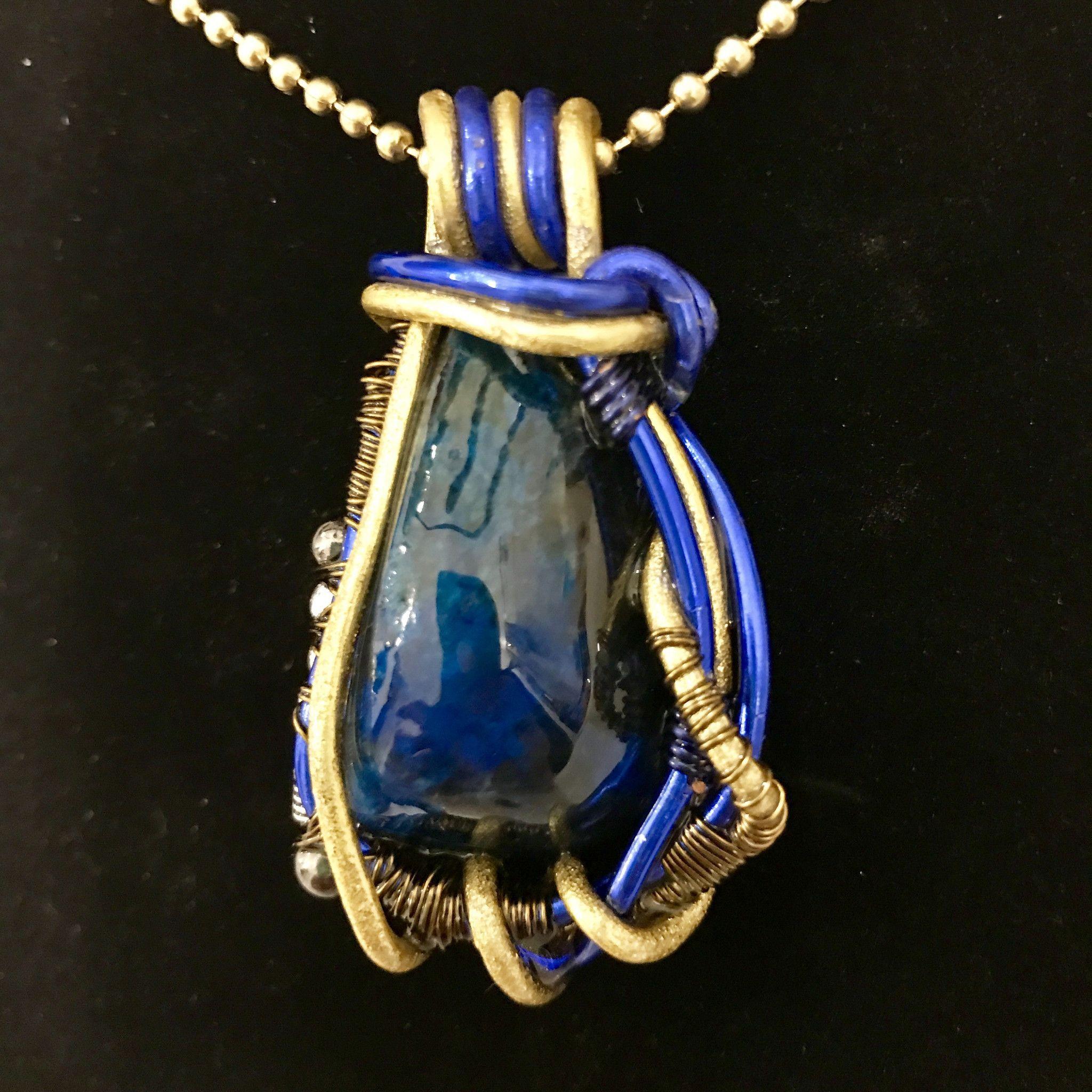 Genesis Blue necklace