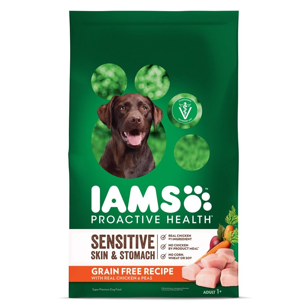 Iams Proactive Health Sensitive Skin Stomach Grain Free Chicken