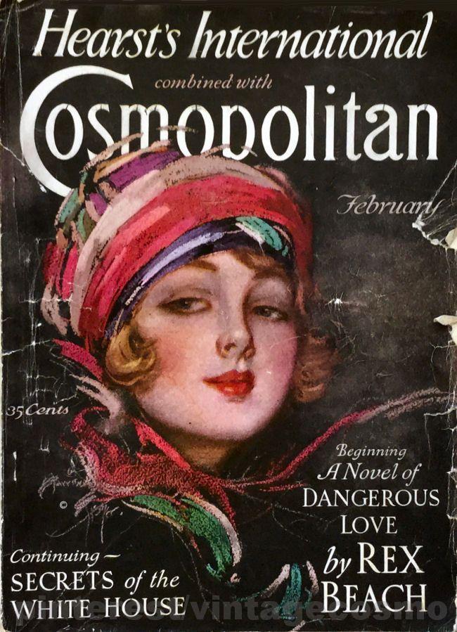 Cosmopolitan magazine, FEBRUARY 1927 Artist Harrison