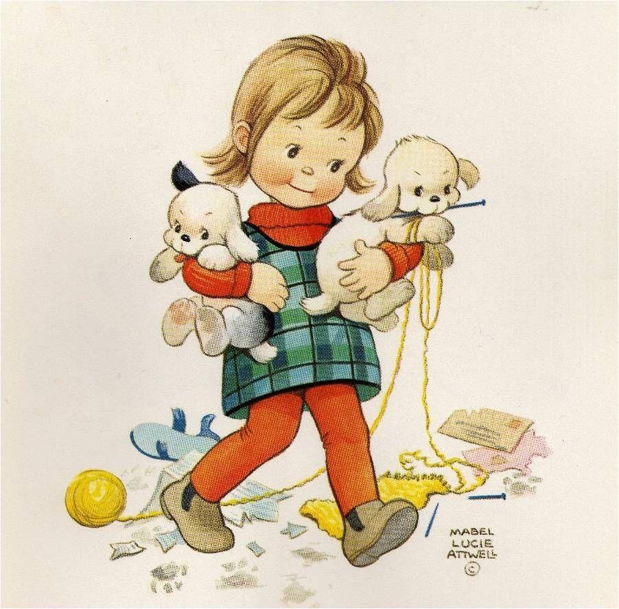 Ilustracoes Infantis De Mabel Lucie Attwell Ilustracoes Desenho De Crianca Ilustracao Crianca
