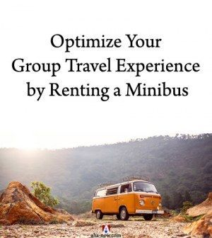 Optimize Your Group Travel Experience By Renting A Minibus Pin