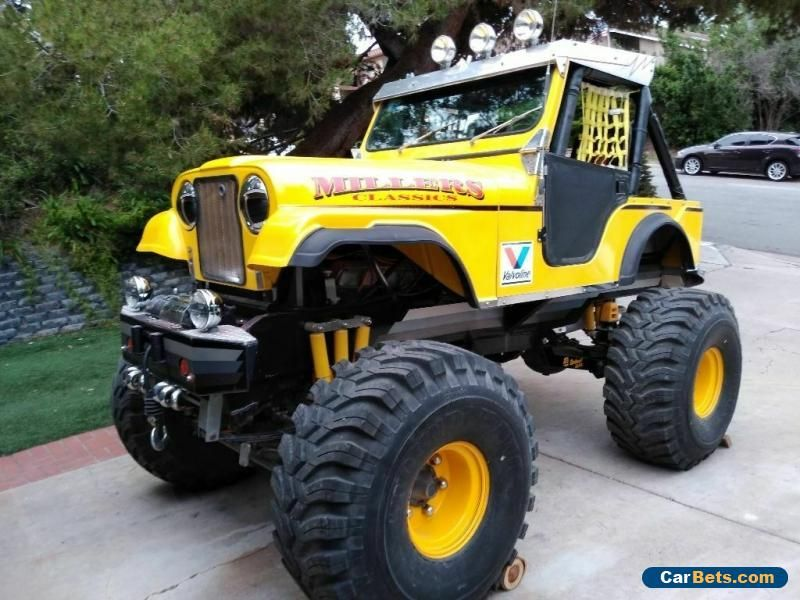Car For Sale 1972 Jeep Cj Monster Toy Jeep Cj Monster Truck Toys Jeep