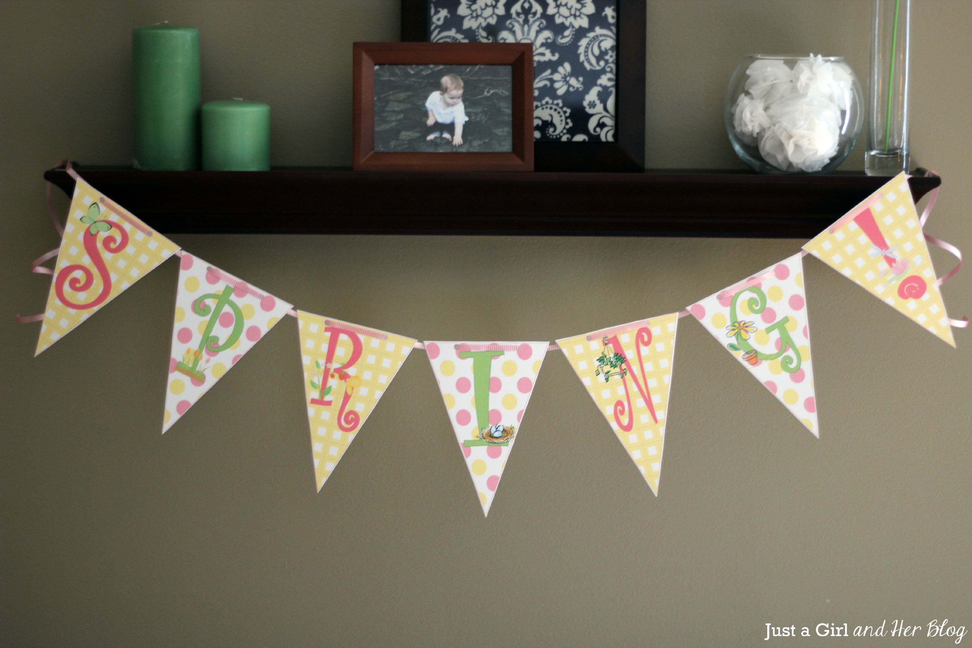 Diy Wedding Word Banners: How To Make A Bunting Banner In Word {with Clip Art Tips