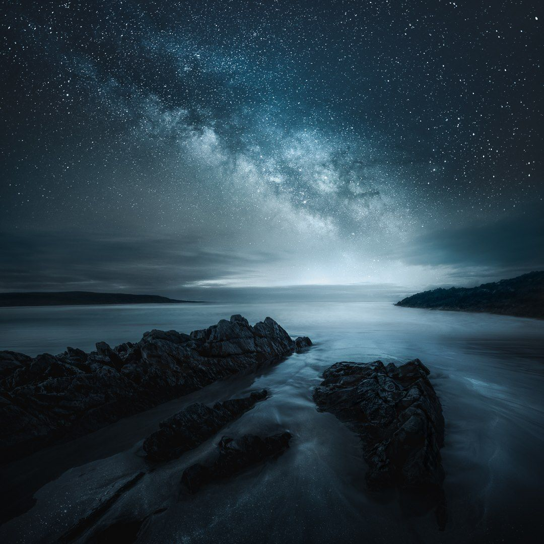 The Night Skies Over Finland Iceland Saturated With Stars Photographed By Mikko Lagerstedt Night Skies Nature Photography Landscape Photography