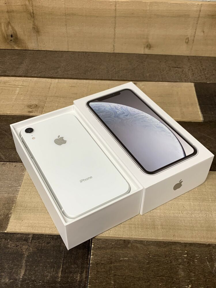New Apple Iphone Xr 256gb White At T Straight Talk