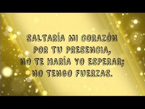 Vuelve A Llamar Letra Jesus Adrian Romero Youtube Con