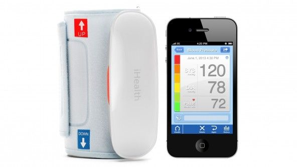 Track your blood pressure intelligently with the iHealth