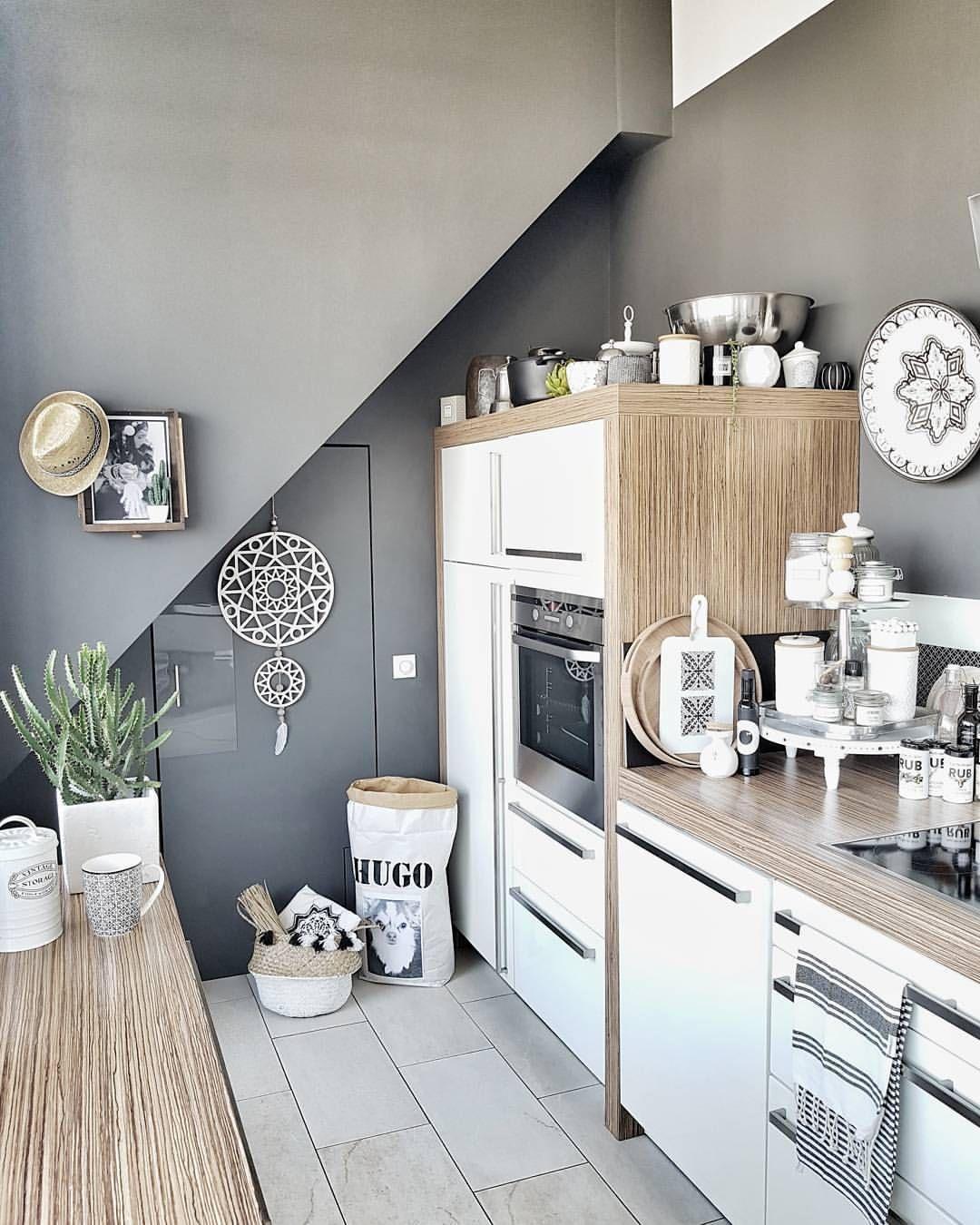 Epingle Par Sandrine Paucher Sur Cuisine Deco Maison Cuisines