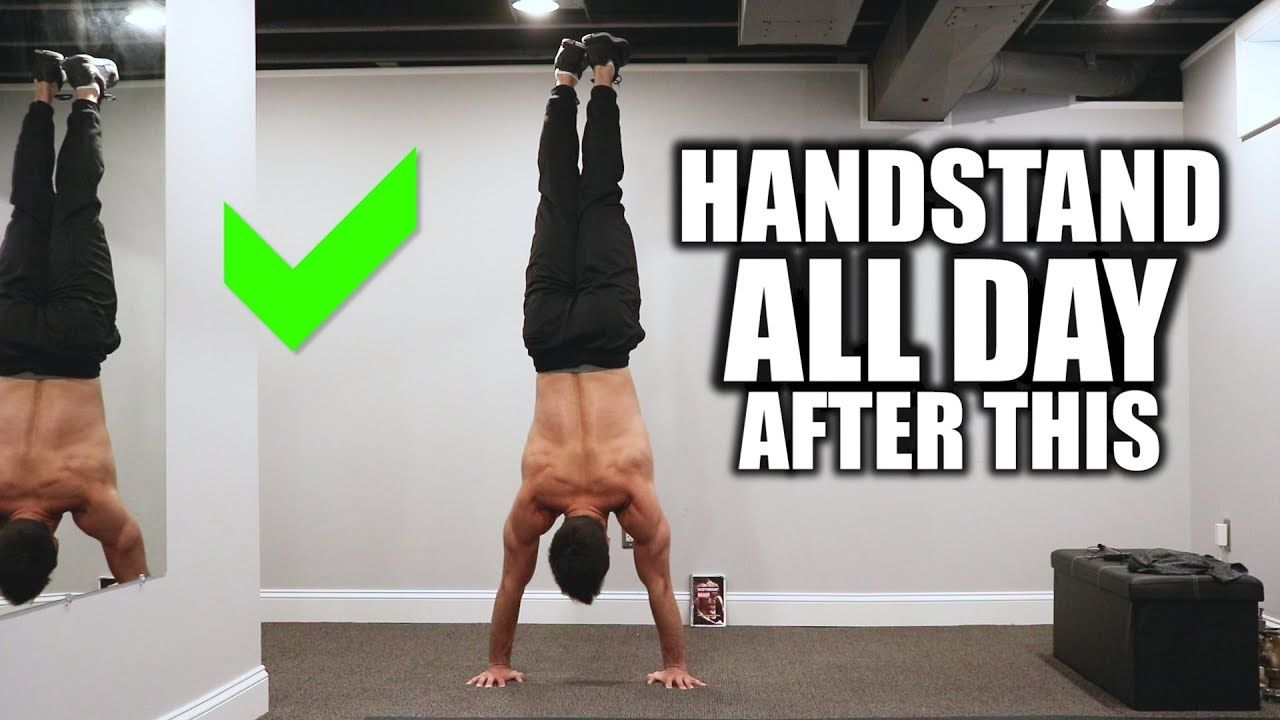 Can't Handstand For Long? Exercises You Are Missing (With