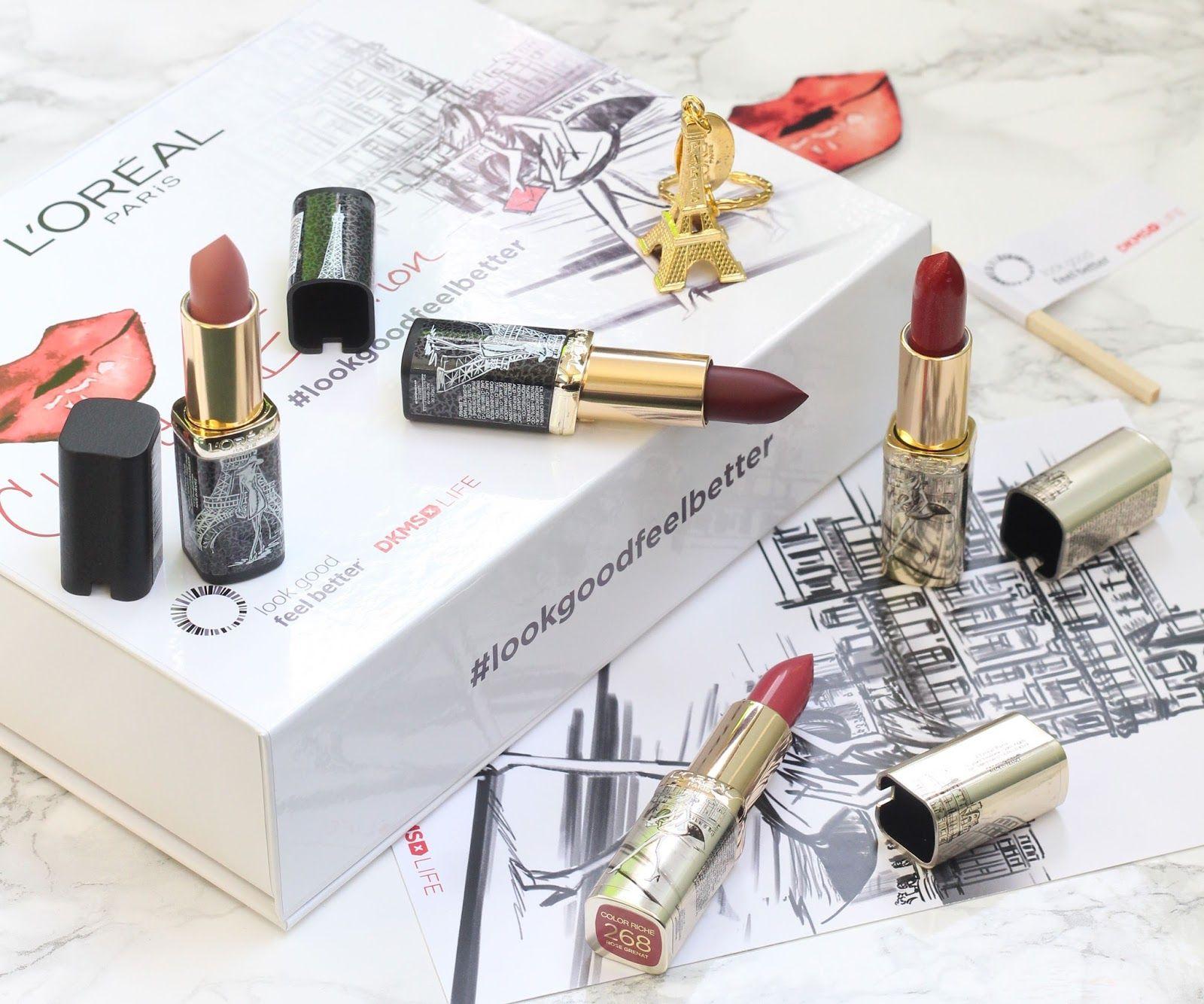 L'Oréal Paris Color Riche Charity Edition Lipsticks 2017