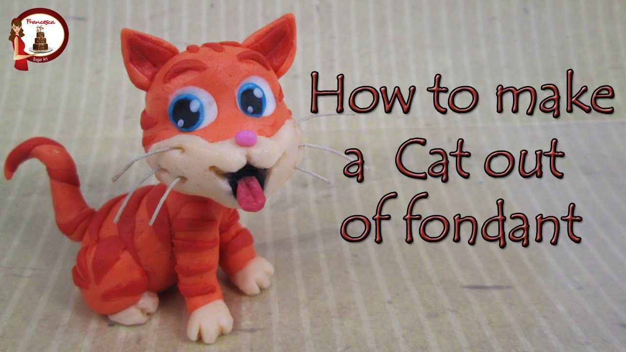 how to make figures out of fondant