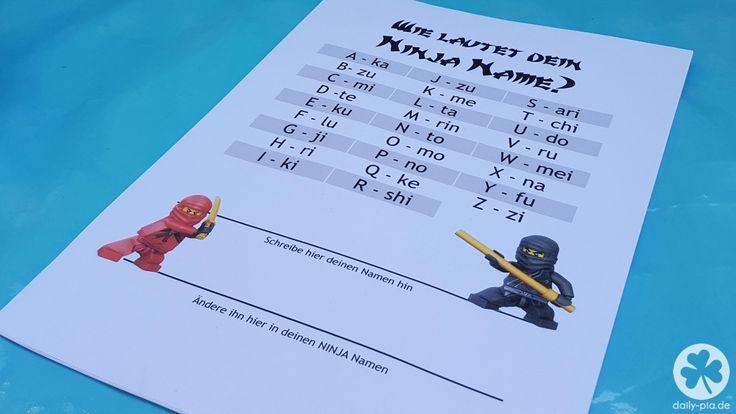 Bis einer heult! • Die Ninjago-Party | Ninja geburtstag, Ninjago geburtstag, Kindergeburtstag jungen