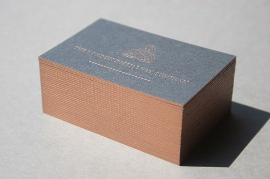 Bronze edge painted business cards on 1000mic recycled board de bronze edge painted business cards on 1000mic recycled board reheart Image collections