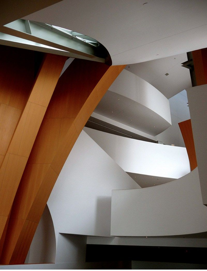 The Walt Disney Concert Hall, Frank Gehry's Curvaceous