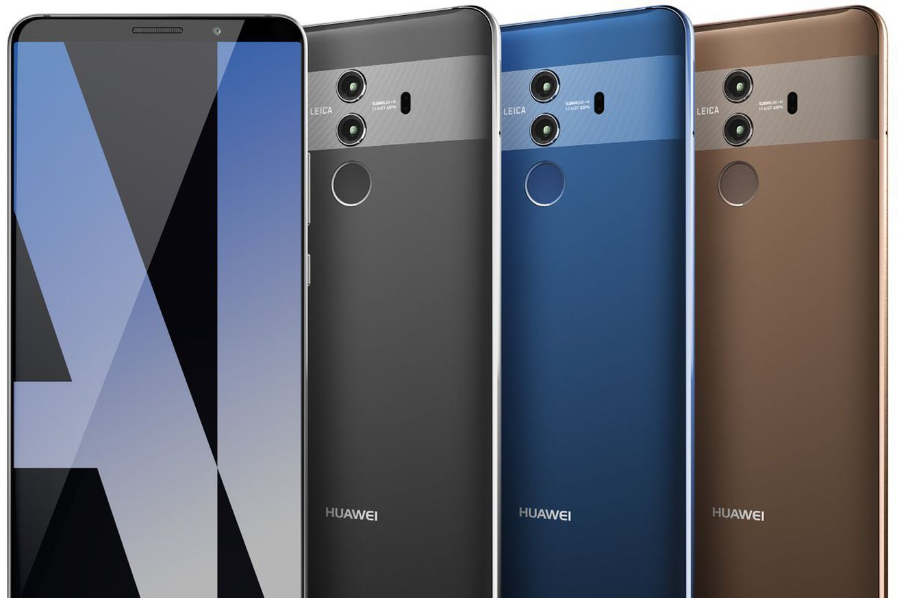 New Leak Of Huawei S Mate 10 Pro Shows Its 3 Camera Setup And Teases Ai Huawei Mate Cell Phone Reviews Latest Mobile