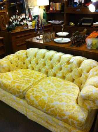 Here S A Vintage Chesterfield Sofa