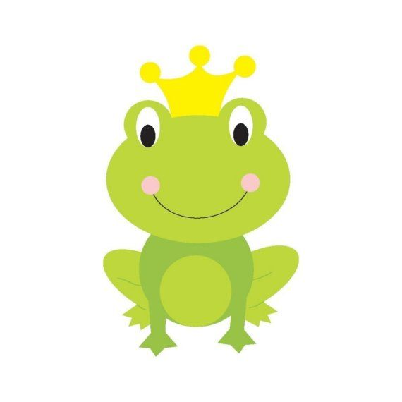 frog prince printable note cards gift tags and stationery rh pinterest com frog prince clipart free frog prince clipart free