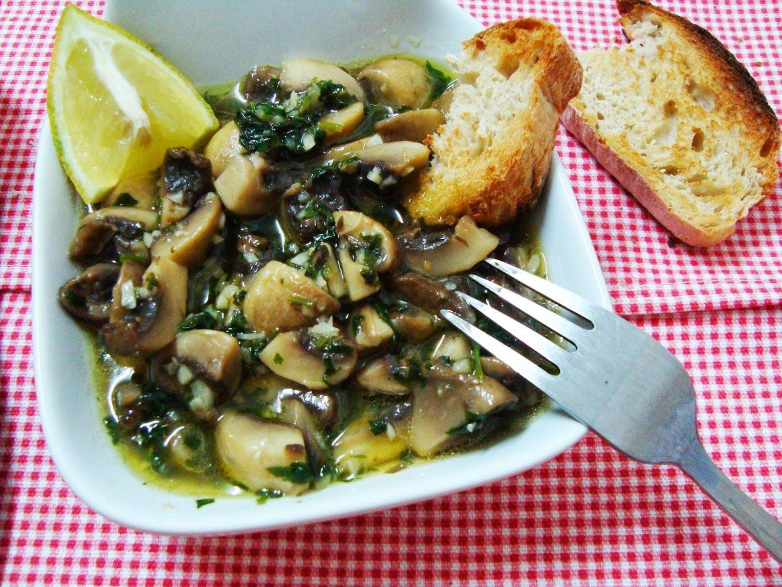 Universo dos Alimentos: Cogumelos à Bulhão Pato