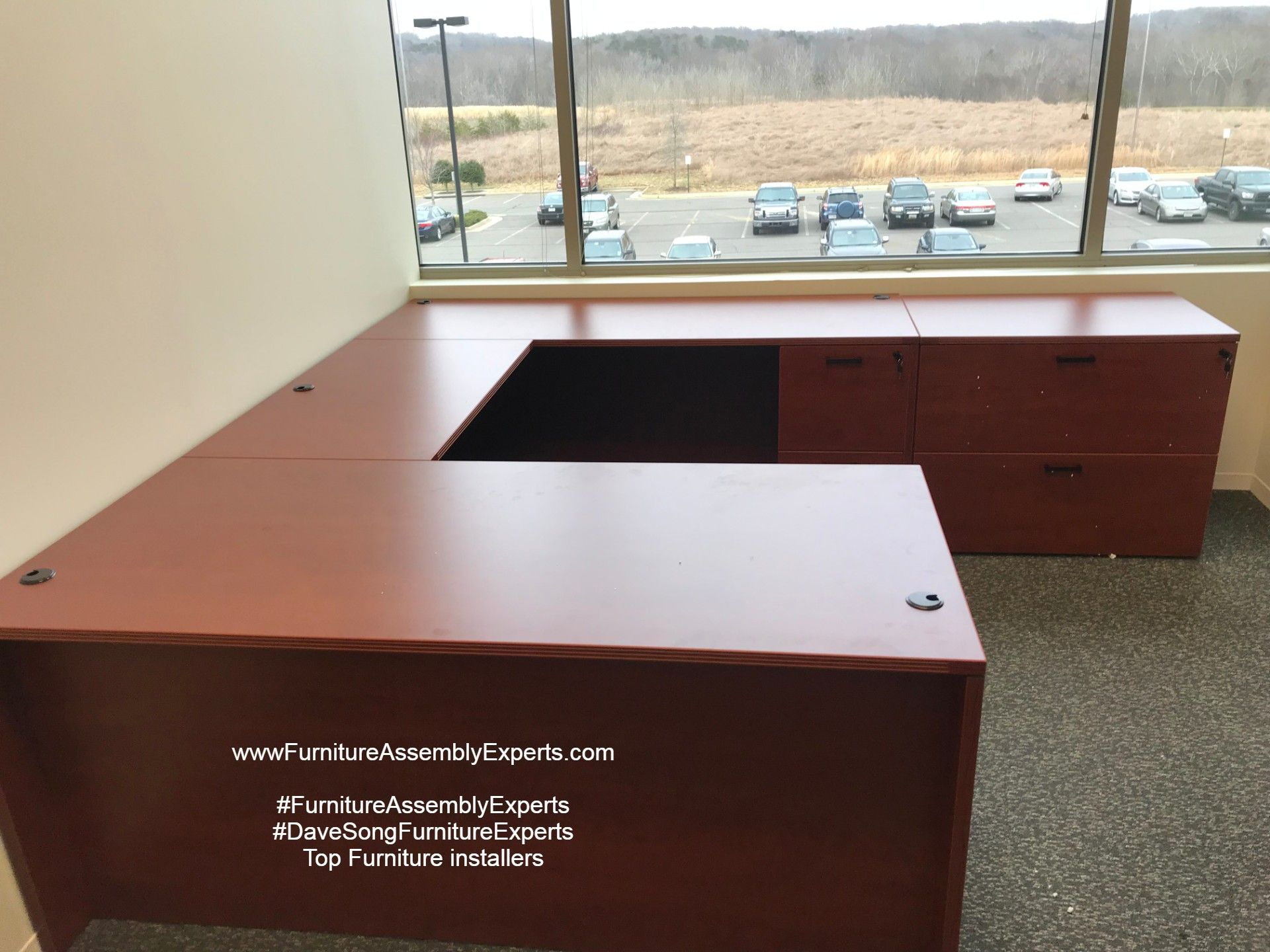 Commercial Office Furniture Installation Completed In Richmond
