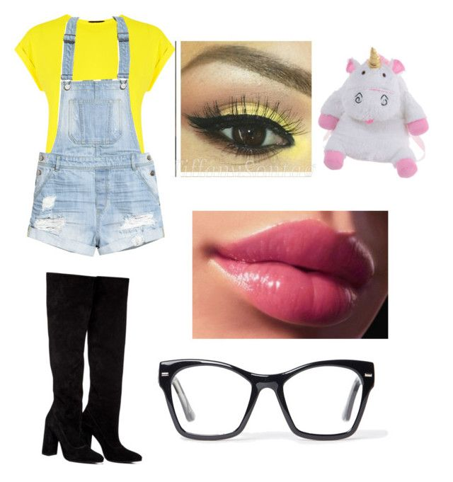 """""""Minion"""" by princessmal on Polyvore featuring Warehouse, H&M, Anouki and Spitfire"""