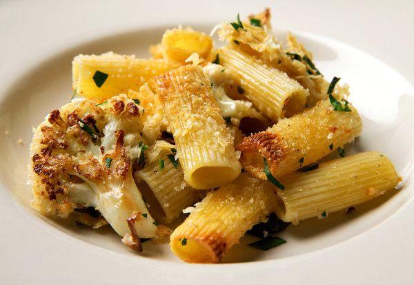 Rigatoni And Cauliflower Al Forno Recipe Recipe Cooking Recipes Rigatoni
