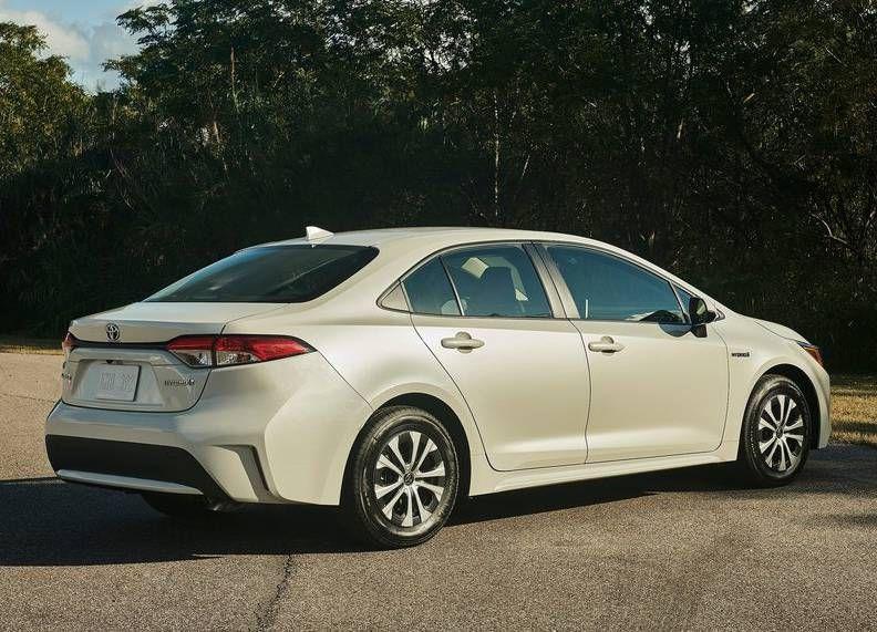 2020 Toyota Corolla Hybrid Toyota Corolla Corolla Toyota