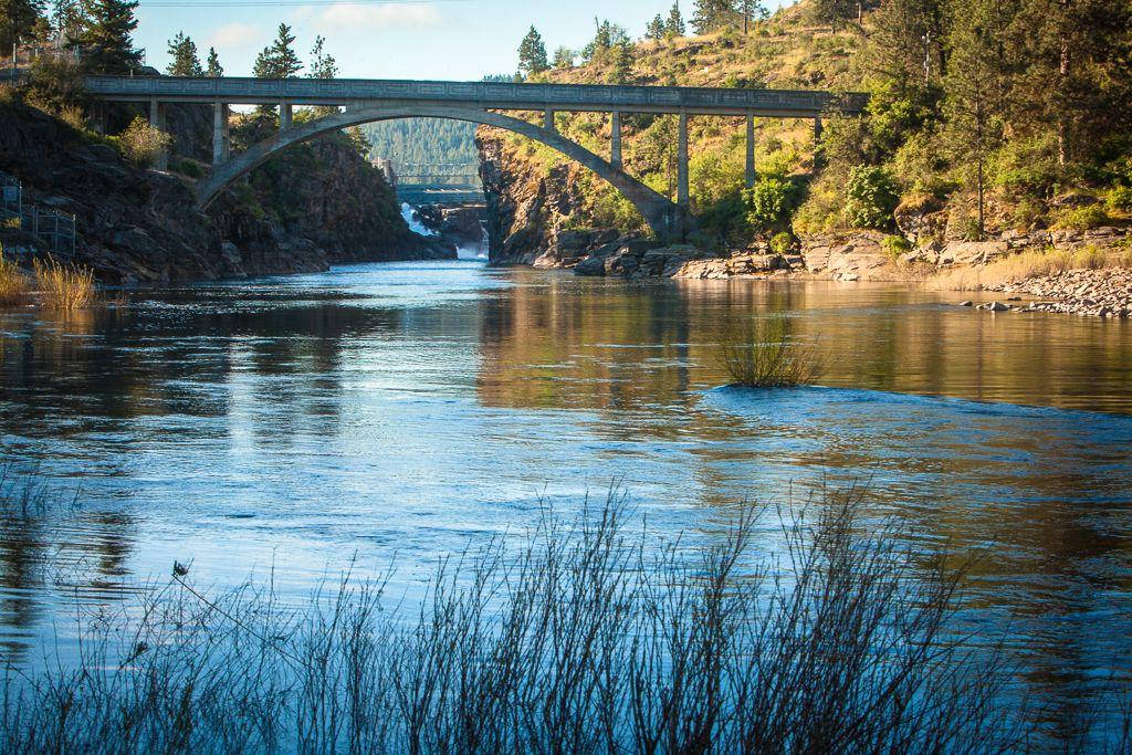 Spokane River Recreational Opportunities Avista Map