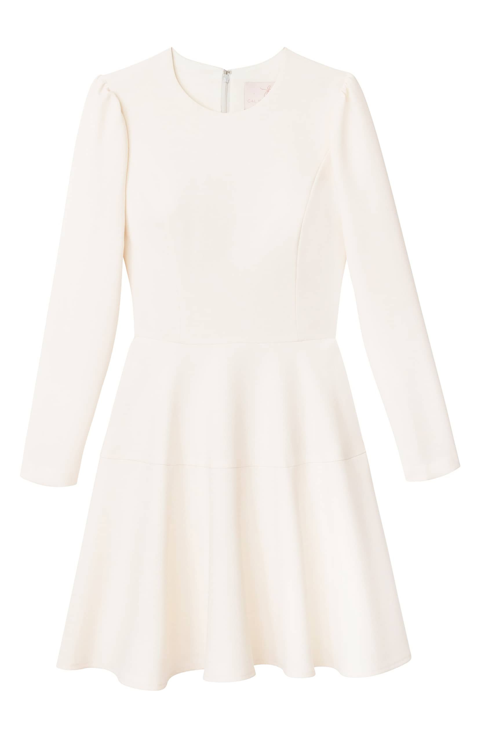 Gal Meets Glam Collection Celeste Long Sleeve Fit Flare Dress Nordstrom Fit Flare Dress Flare Dress Nordstrom Dresses [ 2546 x 1660 Pixel ]